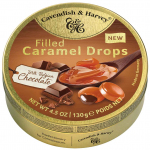 Cavendish & Harvey Filled Caramel Drops with Belgian Chocolate 130g
