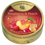 Cavendish & Harvey Raspberry & Peach Drops filled 175g