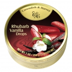 Cavendish & Harvey Rhubarb Vanilla Drops 200g