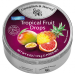Cavendish & Harvey Tropical Fruit Drops sugarfree 175g