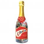Celebrations Champagner-Flasche Weihnachten