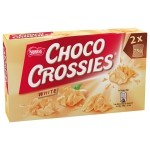 Choco Crossies White 2x75g