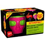Chupa Chups Aktionspaket 135 Lutscher + 3D Totenkopf-Aufsteller gratis