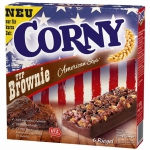Corny Typ Brownie American Style 6 Riegel