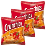Crunchips Hot Paprika 20x25g