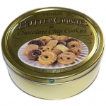Danish Butter Cookies & Chocolate Chip Cookies 500g Metalldose