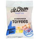 de Bron Fruitjuice Toffees sugar free 90g