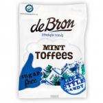 de Bron Mint Toffees sugar free 90g