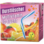Durstlöscher Multivitamin 12-Frucht 500ml