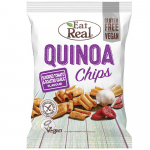 Eat Real Quinoa Chips Tomato & Roasted Garlic 80g