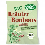 Edel Bio Kräuter Bonbons gefüllt