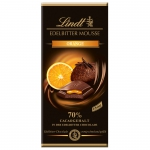 Lindt Edelbitter Mousse Orange 150g