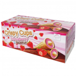 Eichetti Crispy Cups Strawberry & Hazelnut