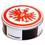 Eintracht Frankfurt Brezeln in Milchschokolade Dose