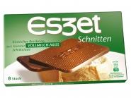 Eszet Schnitten Vollmilch-Nuss