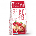 Feel Fruity Erdbeere in weißer Schokolade 90g