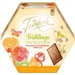 Feodora Frühlings-Täfelchen Vollmilch-Erdbeer-Vanille