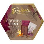 Feodora Frohe Weihnachten Täfelchen Vollmilch-Orange-Vanille 225g