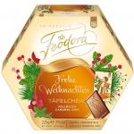 Feodora Frohe Weihnachten Täfelchen Vollmilch-Caramel-Zimt