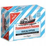 Fisherman's Friend Eucalyptus ohne Zucker 3x25g