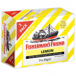 Fisherman's Friend Lemon ohne Zucker 3x25g