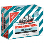 Fisherman's Friend Spearmint ohne Zucker 3x25g