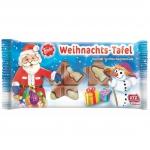 Friedel Weihnachts-Tafel Edel-Vollmilchschokoloade 75g