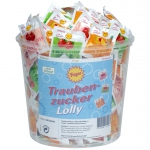 Frigeo Traubenzucker Lolly 100er Dose
