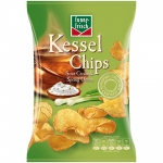 funny-frisch Kessel Chips Sour Cream & Spring Onion