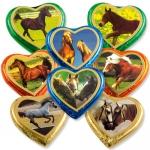 Günthart Große Pralinenherzen Pferde 40er