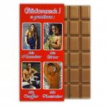 """Glückwunsch-Schokolade """"Männer"""""""