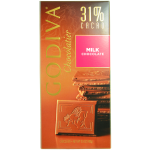 Godiva Chocolatier Milk Chocolate 31% Cacao