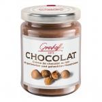 Grashoff Chocolat Au Lait mit gerösteten und gehackten Haselnüssen 250g