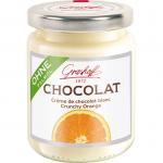 Grashoff Chocolat Crème de chocolat blanc Crunchy Orange 250g