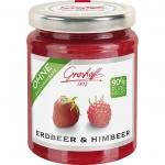Grashoff 90% Frucht Erdbeer & Himbeer 230g