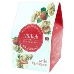 Höflich Knuspries Weiße mit Erdbeeren