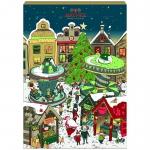 Hachez Adventskalender Weihnachtsmarkt