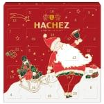 Hachez Adventskalender Weihnachtsmann