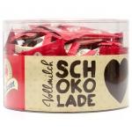 Halloren Schokoladen-Täfelchen Vollmilch 500g Dose