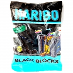 Haribo Black Blocks 375g