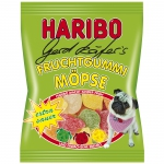 Haribo Gerd Käfer's Fruchtgummi Möpse sauer