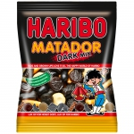 Haribo Matador Dark Mix 375g