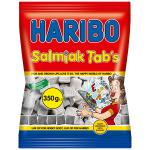 Haribo Salmiak Tab's 350g