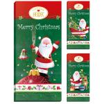 "Heidel ""Christmas Time"" Choco-Grüße Edel-Vollmilch Chocolade 100g"