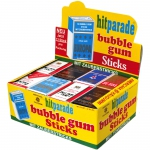hitparade bubble gum Sticks 32x13er Thekendisplay