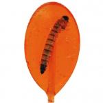 Don't Cry Eat It! Insektenlutscher mit Mehlwurm Orange