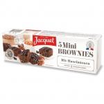 Jacquet Mini Brownies mit Haselnüssen 5er