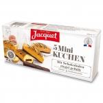 Jacquet Mini Kuchen Mit Schokoladenriegel gefüllt 5er