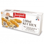 Jacquet Mini Kuchen mit Schokoladenstückchen 5er