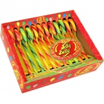 Jelly Belly Gourmet Candy Canes Very Cherry Green Apple Orange 12er